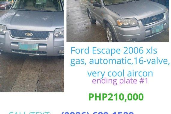 2006 Ford Escape for sale in Quezon City
