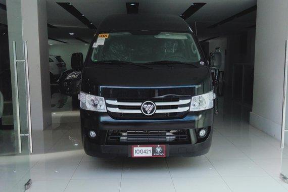 Black Foton View Transvan 2019 for sale in Pasig