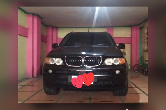 Black Bmw X5 2005 Automatic Diesel for sale