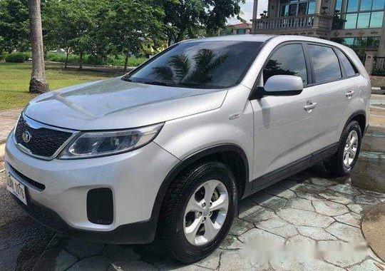 Silver Kia Sorento 2015 Automatic Diesel for sale