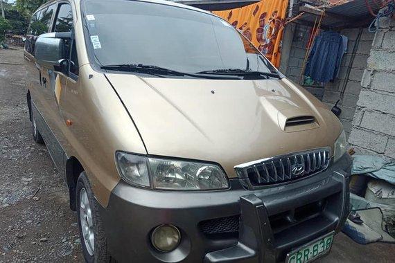 Sell Used 2001 Hyundai Starex Manual Diesel in Isabela