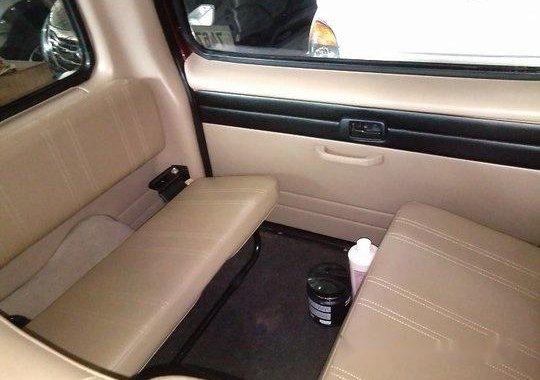 Red Isuzu Crosswind 2013 Manual Gasoline for sale