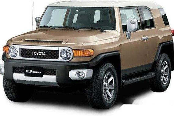 Toyota Fj Cruiser 2019 Automatic Gasoline for sale