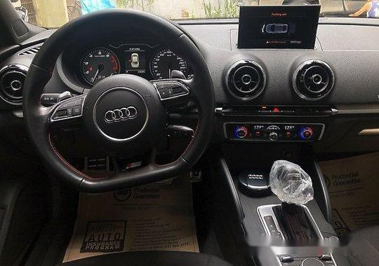 Blue Audi S3 2016 at 5000 km for sale