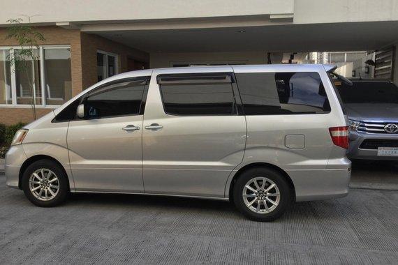Sell 2nd Hand 2002 Toyota Alphard Van in Quezon City