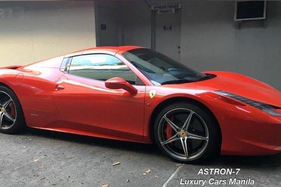 Selling Ferrari 458 Spider 2012 Convertible in Quezon City