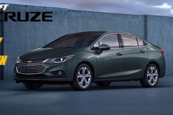 2018 Chevrolet Cruze for sale in Quezon City