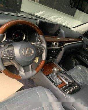 Black Lexus Lx 570 2017 Automatic Gasoline for sale
