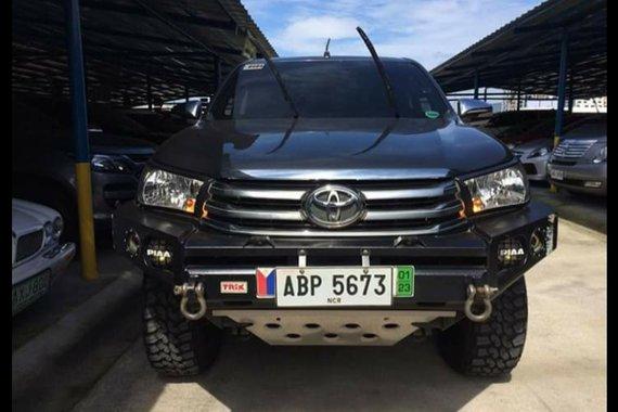 2016 Toyota Hilux G 2.8L 4x4 MT/Diesel