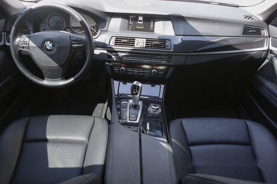 Sell black 2014 Bmw 520D in Quezon City