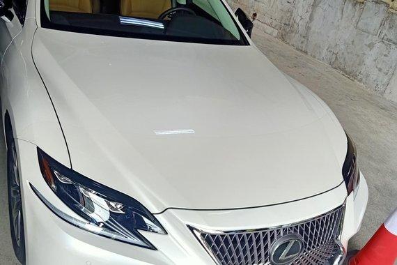 Brand new 2019 Lexus LS500