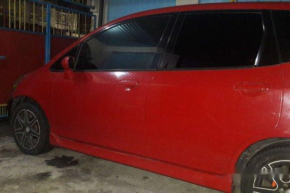 Sell Red 2008 Honda Fit in Quezon City