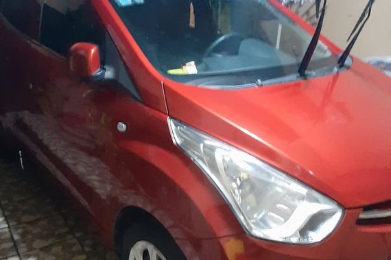 Red Hyundai Eon 2014 for sale in Quezon City