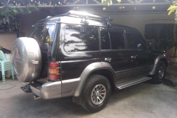 Black Mitsubishi Pajero 1991 for sale in Manual