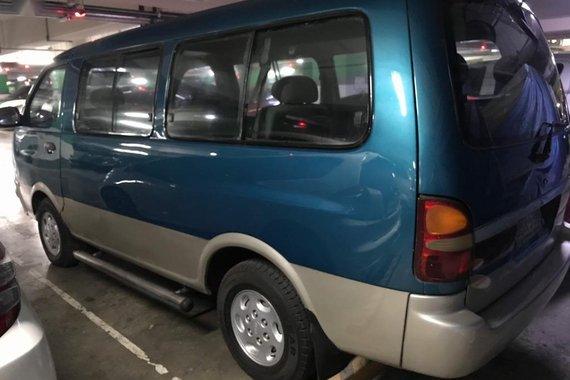 Blue Kia Pregio 1997 for sale in Quezon City