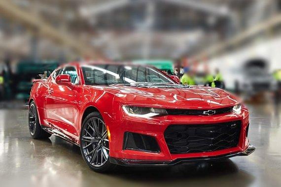 Brand new 2020 Chevrolet Camaro ZL1 Supercharged
