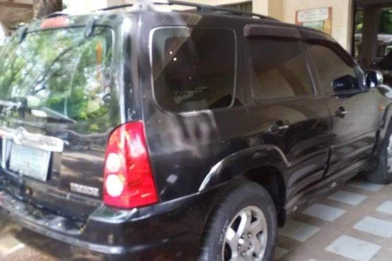 Black Mazda Tribute 2005 for sale in Quezon City