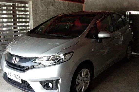 Silver Honda Jazz 2011 for sale in Manila