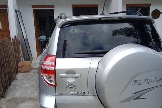 Silver Toyota Rav4 2011 for sale in Manila