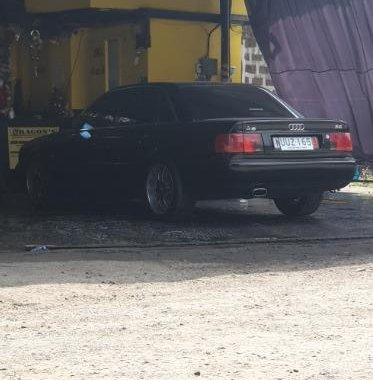 Black Audi A6 1997 for sale in Automatic
