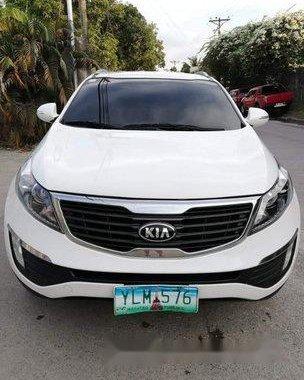 Sell White 2013 Kia Sportage in Cebu