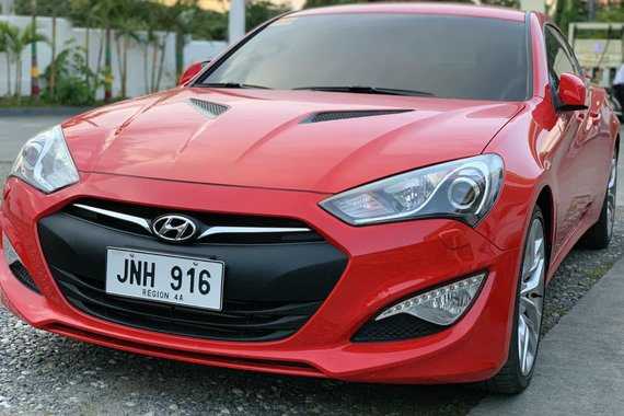 2014 Hyundai Genesis Coupe 2.0T 8-speed A/T
