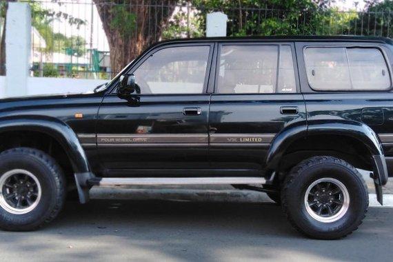 Black Toyota Land Cruiser 1994 for sale in Manila
