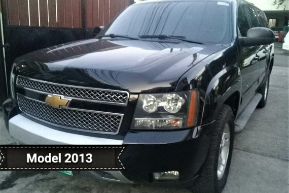 2013 CHEVROLET SUBURBAN TOP OF THE LINE MODEL. GREAT BUY! WELL KEPT - LOW MILEAGE