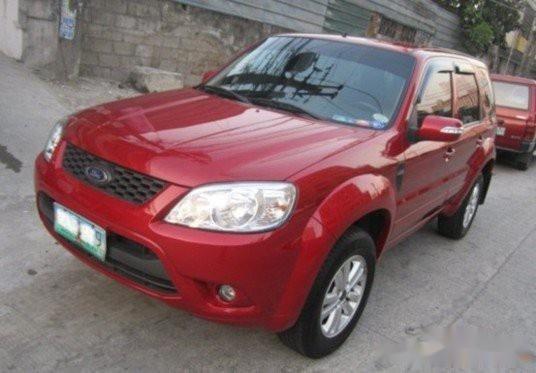 Selling Red Ford Escape 2010 SUV / MPV in Quezon City