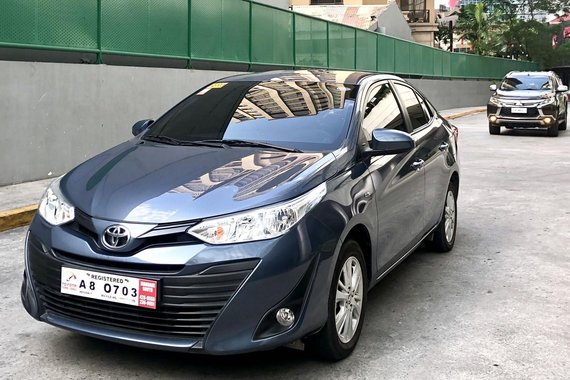 BLUE 2019 TOYOTA VIOS CVT AVAILABLE NEGOTIABLE UPON VIEWING IN QC
