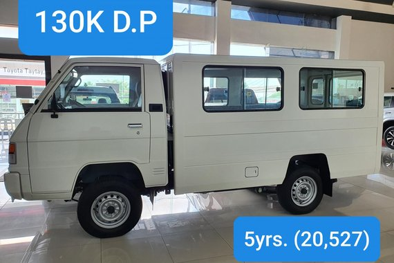 2020 Mitsubishi L300 M/T w FB Body & Dual A/C