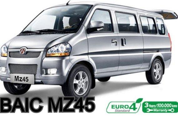 2018 BAIC MZ45 Transporter Van (Bought 2019)