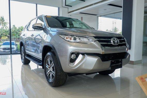 2020 Toyota Fortuner G A/T Diesel