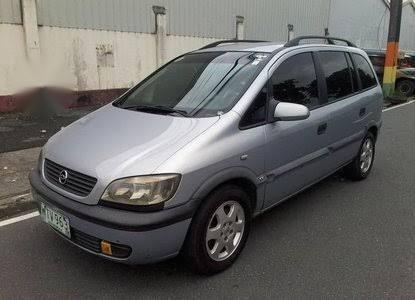 Sell Silver Opel Zafira for sale in Manila
