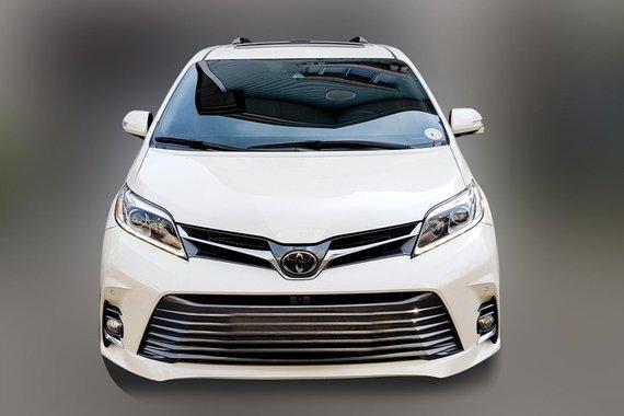 2019 Toyota Sienna LIMITED edition