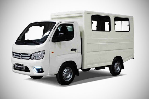 Foton TM MP exterior philippines