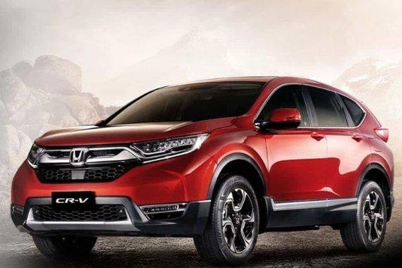 Honda CR-V beauty shot philippines