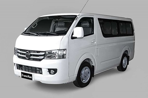 Foton View Transvan front philippines