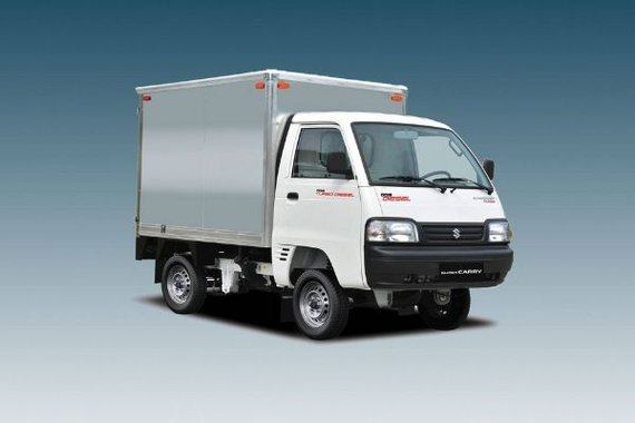 Suzuki Super Carry Cargo Van exterior philippines