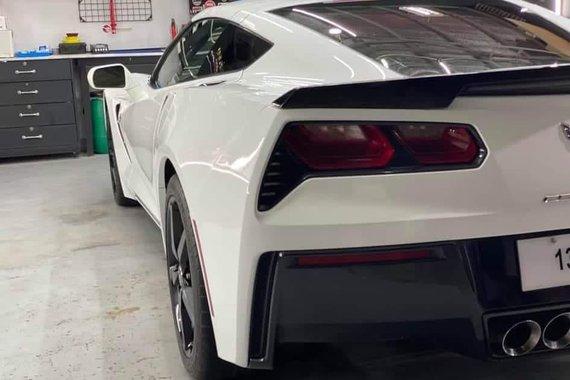 Sell White 2015 Chevrolet Corvette Stingray in Manila