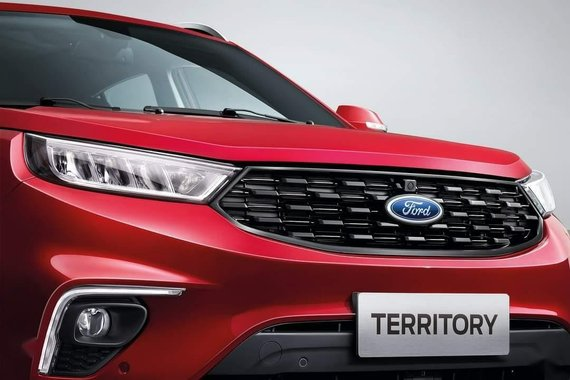 Selling Red Ford Territory 2020 in Manila