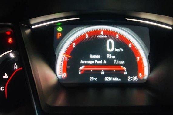 Selling Black Honda Civic RS Turbo Modulo Auto 2017 in Cebu City