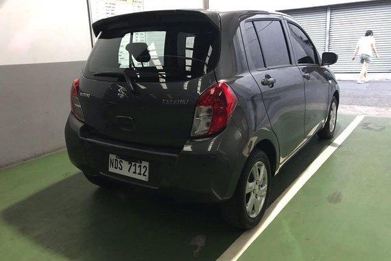 Grey Suzuki Celerio 2016 for sale in Caloocan City
