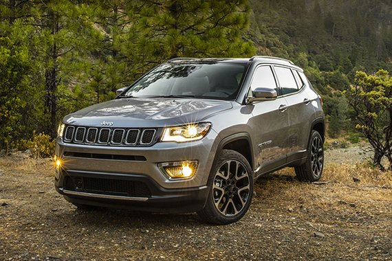 Jeep Compass front quarter philippines