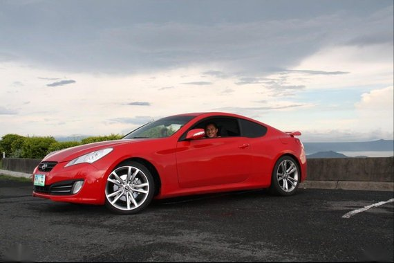 Sell Red Hyundai Genesis Coupe in Manila