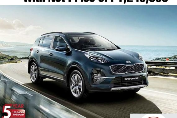 Kia Sportage 2.0L Diesel AT with the NET PRICE of P1,245,000
