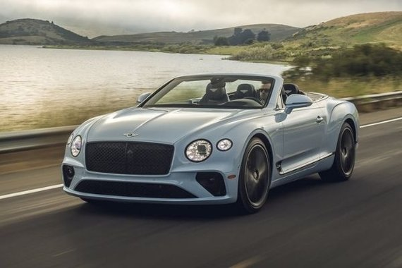 Bentley Continental GT V8 Mulliner Convertible