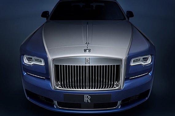 Rolls-Royce Ghost EWB front  philippines