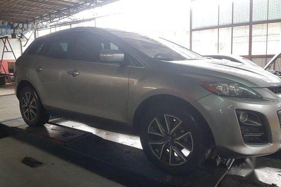Selling Silver Mazda Cx-7 2010 in Manila