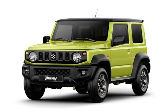 The All-New Jimny All Grip pro